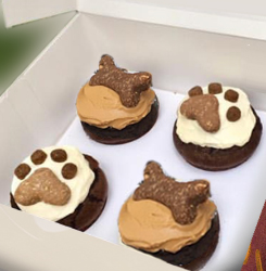 4 Pupcakes